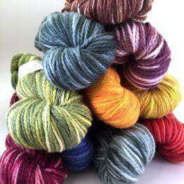 The kaleidoscope - handfärgad bomull